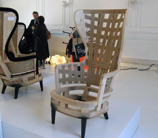 Resultado de imagen para tom dixon wingback chair for Ohrensessel selber bauen