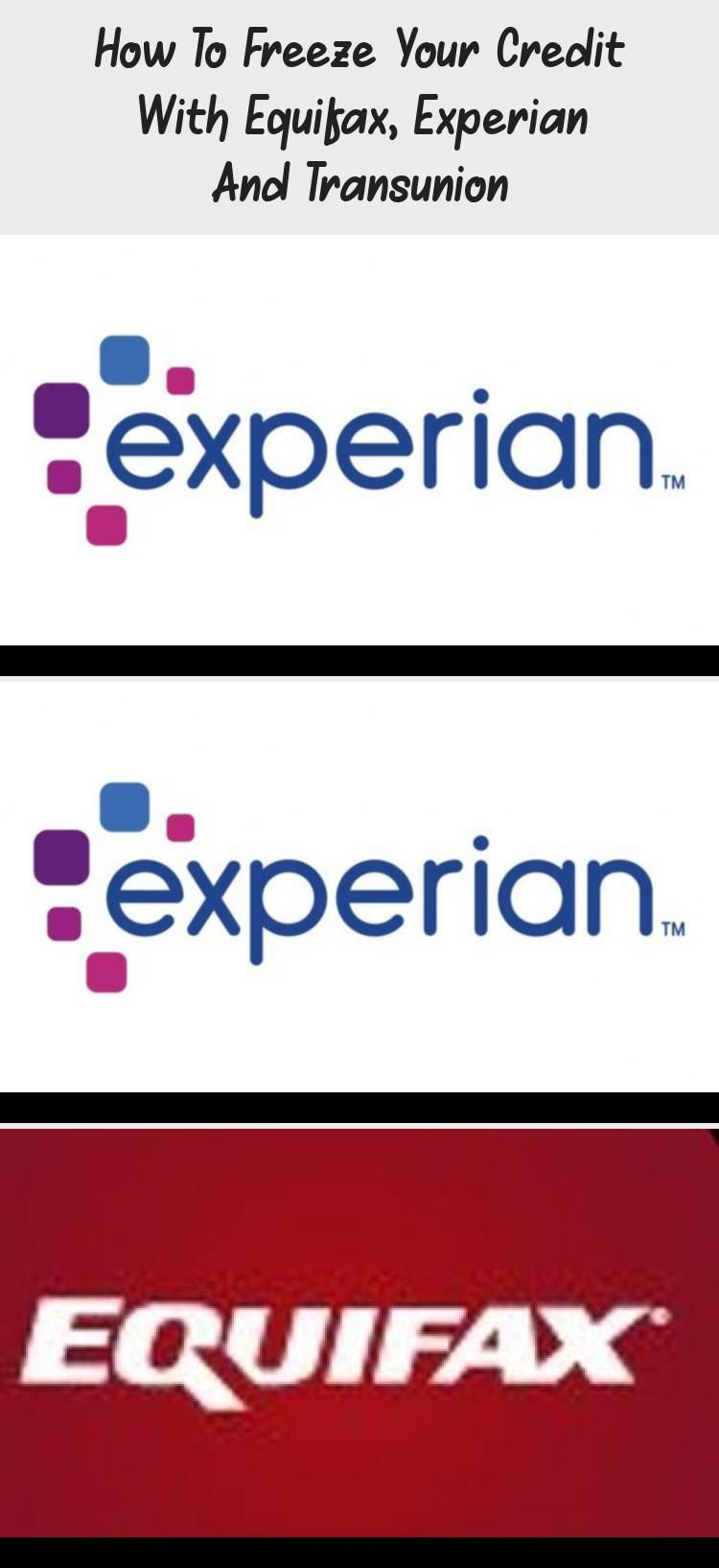 How To Freeze Your Credit With Equifax Experian And Transunion In