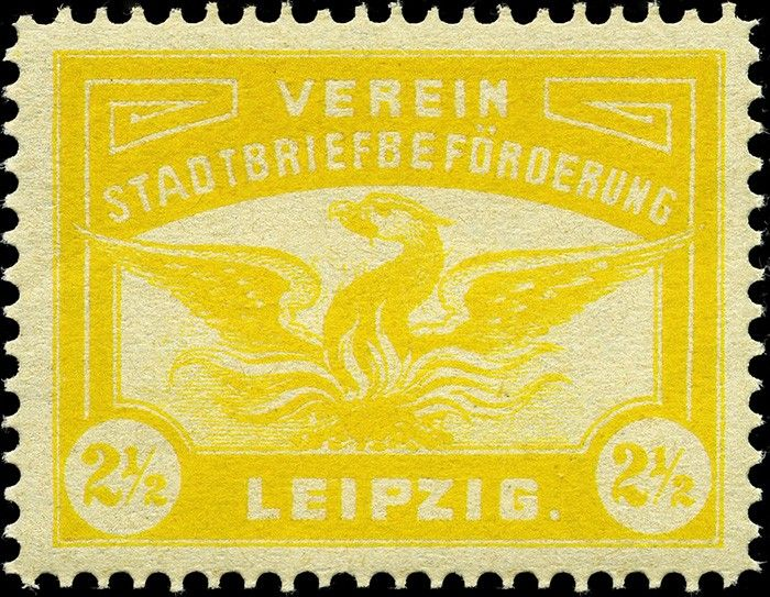 Germany Private Post stamps. The Stamp Forum (TSF)