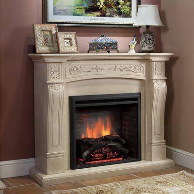 Loon Peak Armes Fireplace Insert Electric Fireplace Insert