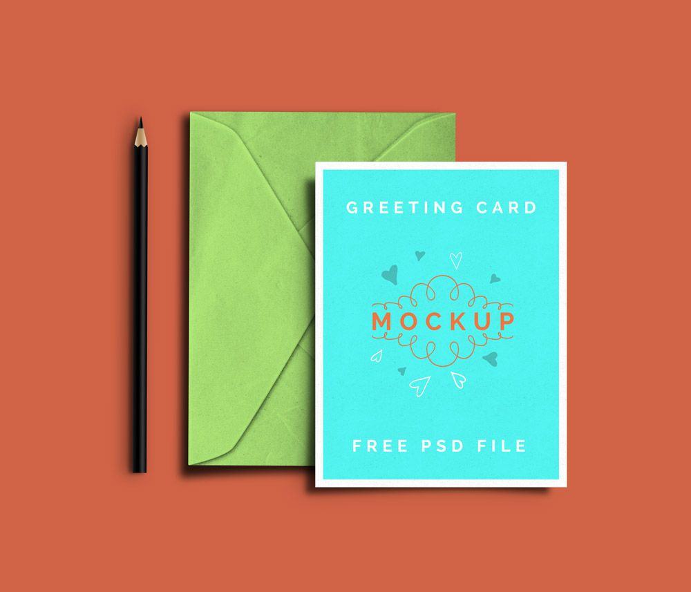 Greeting Card Psd Mockups Graphicsfuel Free Greeting Cards Free Mockup Invitation Mockup