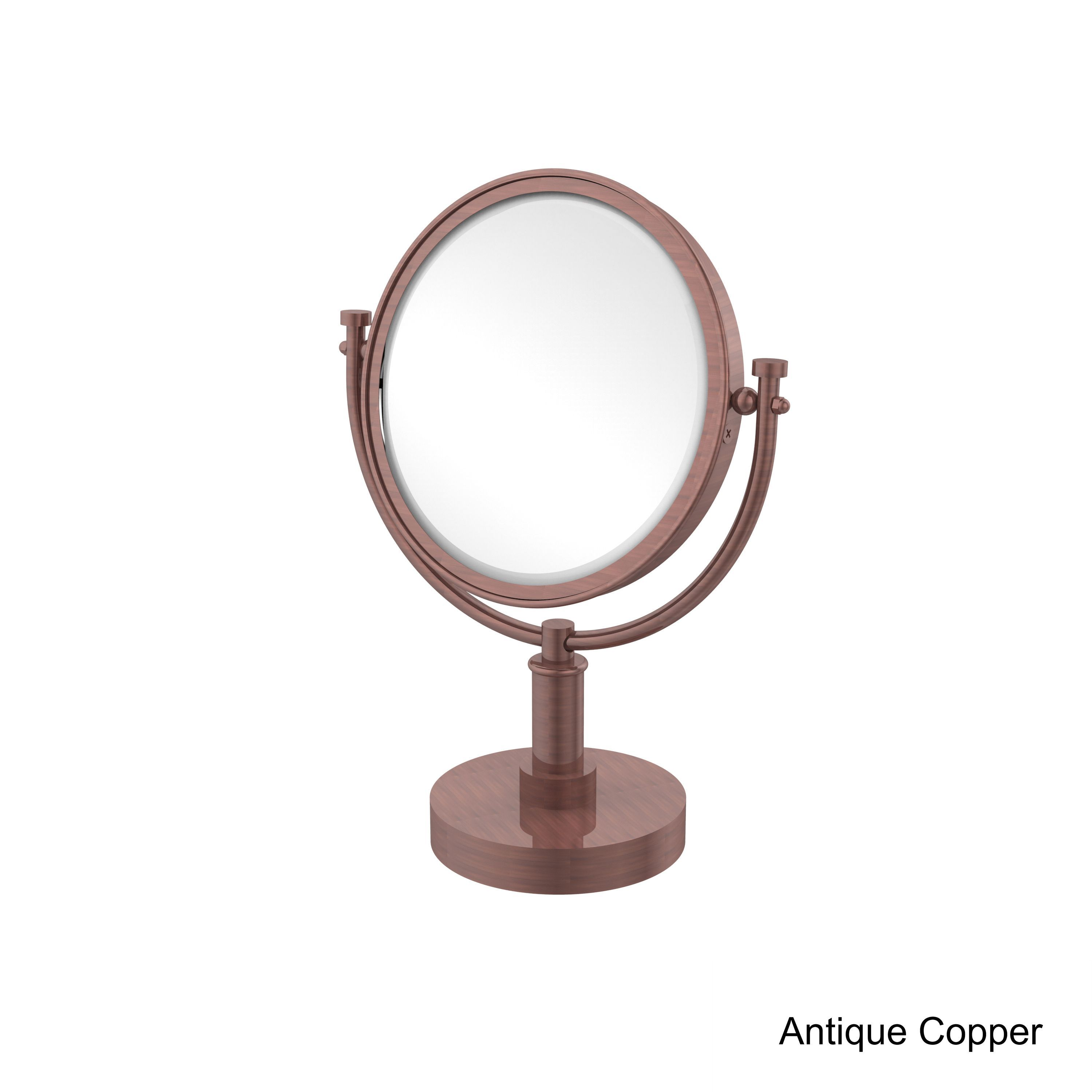 Allied brass inch vanity top makeup mirror x magnification