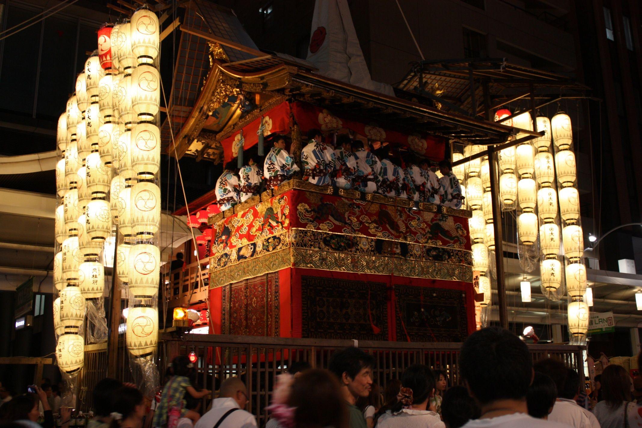 Night time, YoiYoiYoiYama Gion matsuri! YoiYoiYoi is the ...