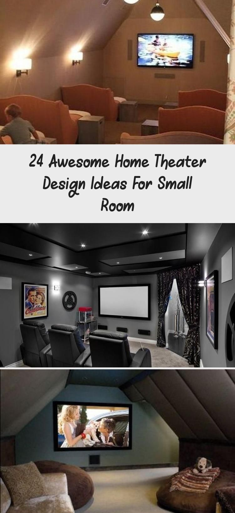24 Awesome Home Theater Design Ideas For Small Room Design Home Design 2020