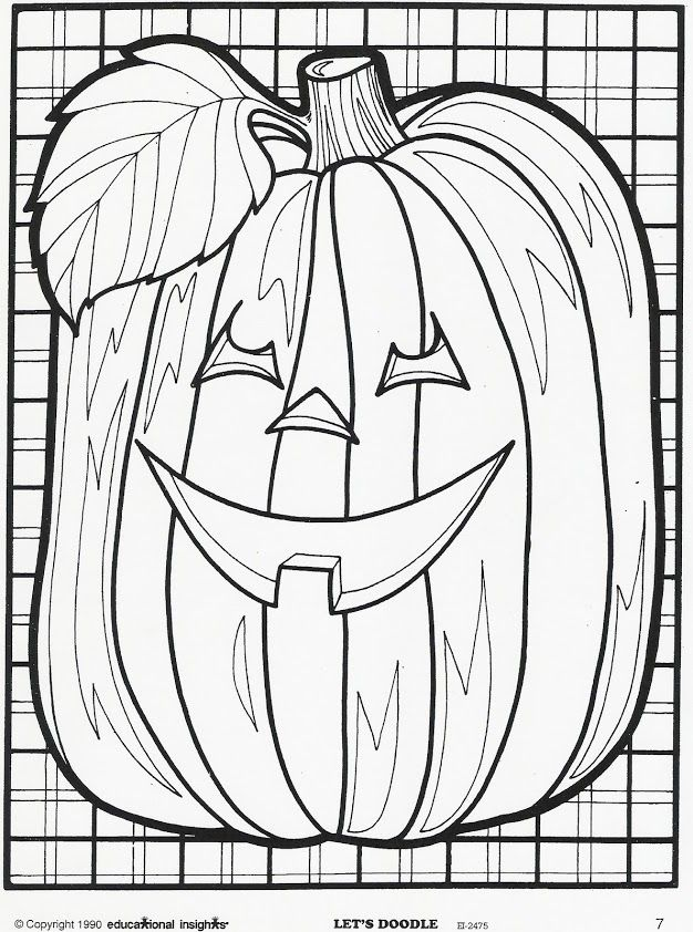 Educational Insights Lets Doodle Coloring Sheets For Fall