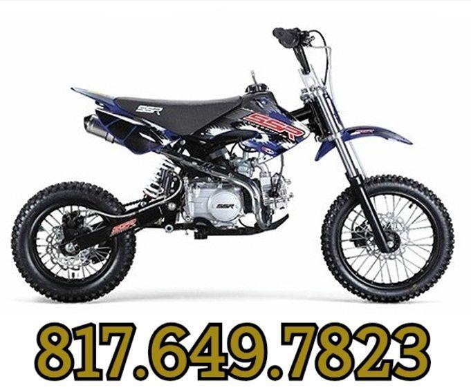 4 Wheelers For Sale Dallas Tx >> Buy SSR SR125SEMI PIT BIKE | Pit bike, Bikes for sale, Bike