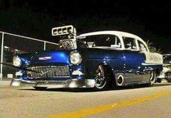 55 Chevy Pro Mod