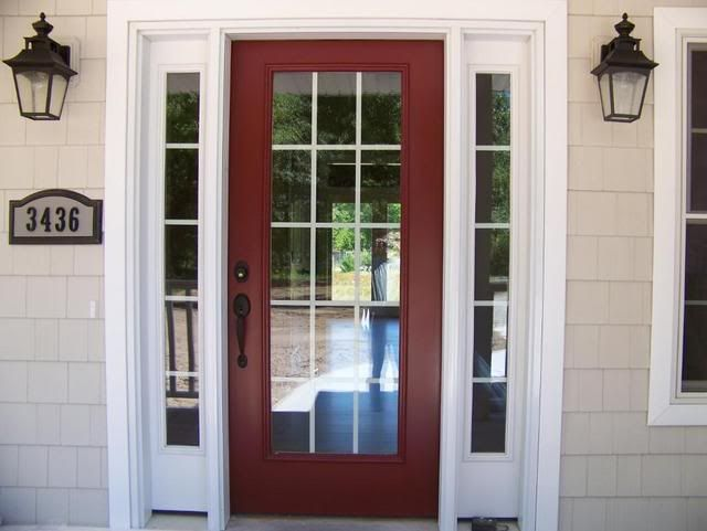 Benjamin Moore Cottage Red What Color Front Door Pic Included Home Decorating Design Forum