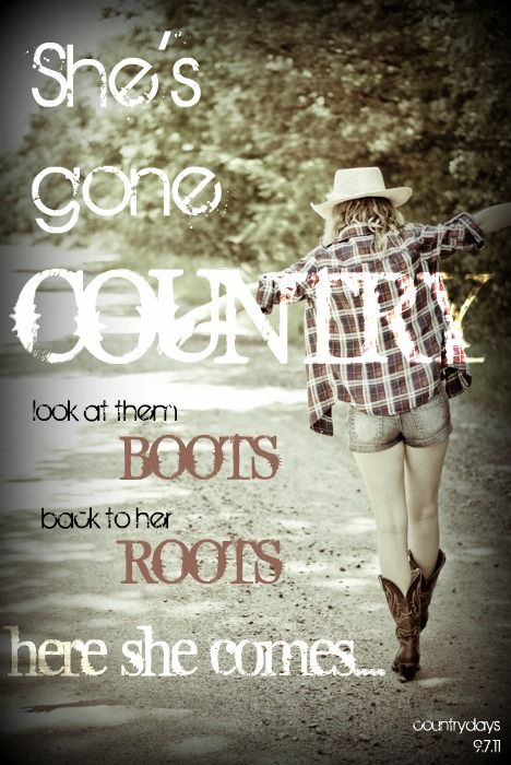 She S Gone Country Look At Them Boots