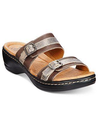 453af82eefaf Clarks Collection Women s Hayla Mariel Flat Sandals - Comfort - Shoes -  Macy s