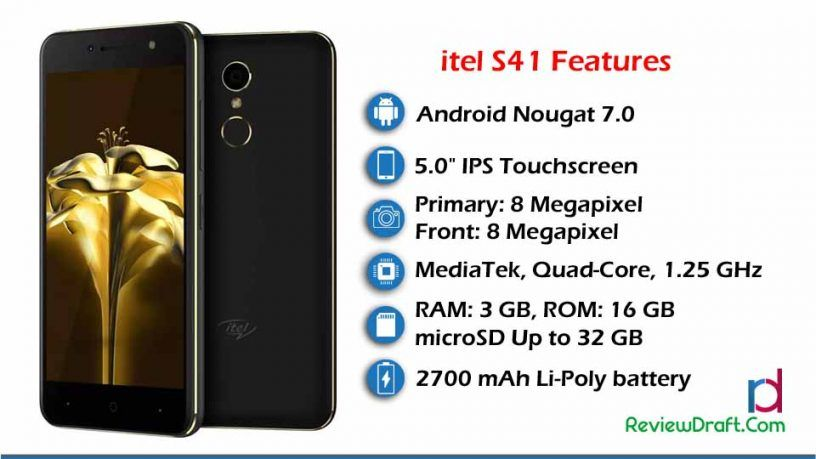 itel S41 Price in Bangladesh, Full Specification | itel Mobile