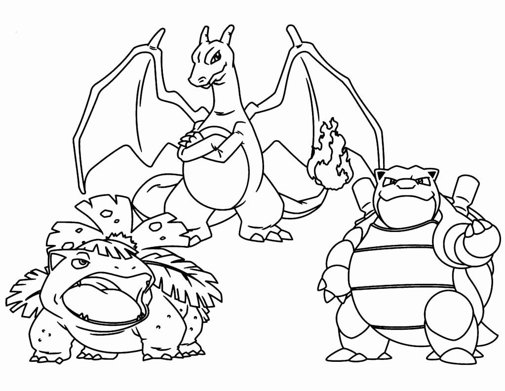 Pokemon Coloring Pages Mega Charizard Concept