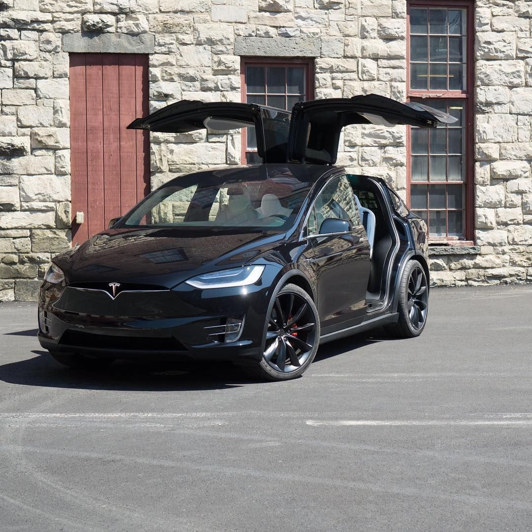 Tesla Model X in the wild Would you choose this or a Model ...