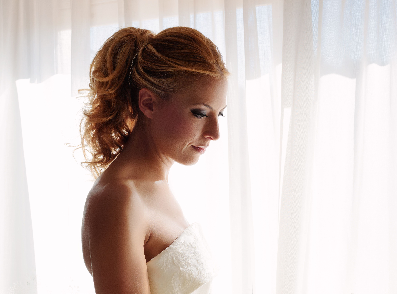 Curly tail. Wedding hairstyle. | Wedding#Brides#Boda#Novias ...