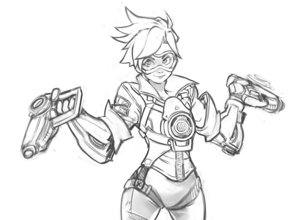 Character Design With Silver A Drawing Guide Book : Rich s on overwatch tracer and doodles