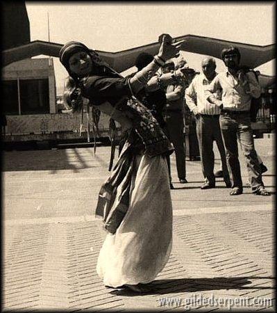 "Cedar's Archives - 1973 - integrante do  ""San Francisco Classical Dance Company"", de Masha Archer."