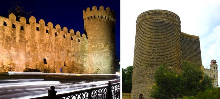 baku azerbaijan walled city places to visit leaning on walled id=13454