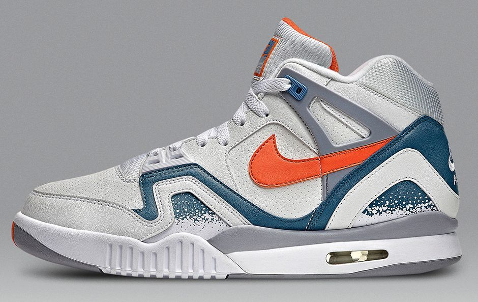 Nike is launching the Nike Air Tech Challenge II Clay Blue sneaker.