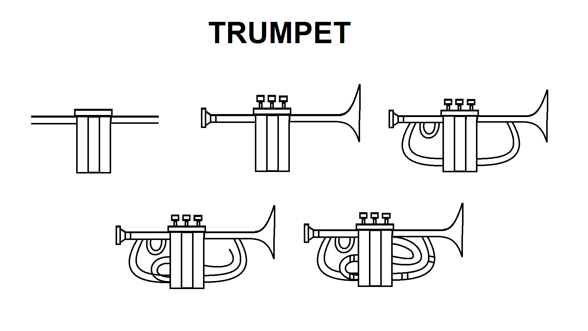 Trumpet Bible Drawing Bible Art Journaling Step By Step Drawing
