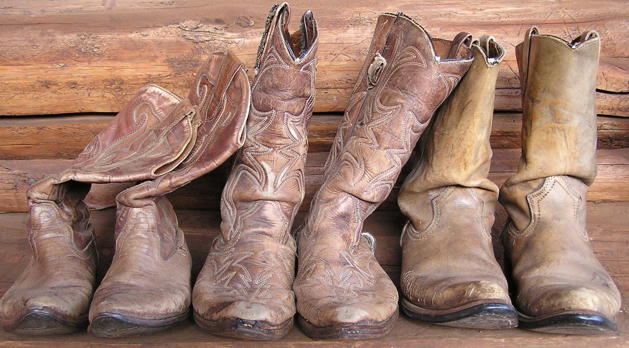Old, worn out cowboy boots #boots #cowboy | Dress Up Box ...