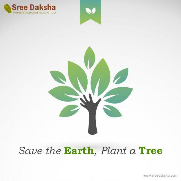 Eco Logo Design, Plant