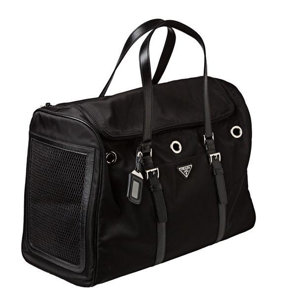 6031b6da3231 Black Prada Dog Carrier