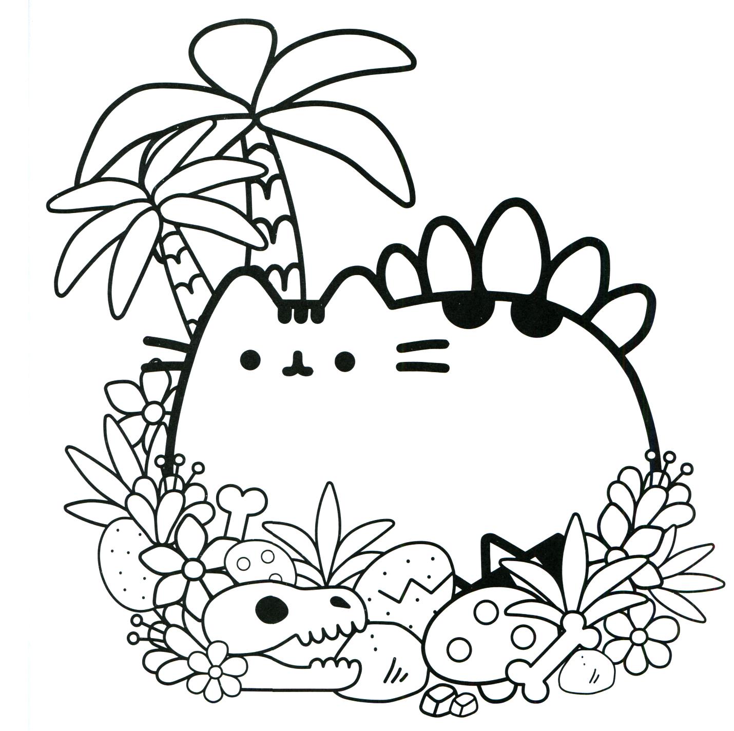 Pusheen Coloring Book Pusheen Pusheen The Cat Pusheen Coloring Pages Pusheen