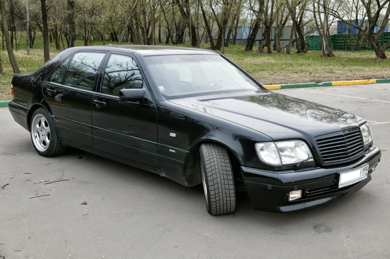 Brabus W140 7 3s Based On Mercedes Benz S Class Mercedes Benz