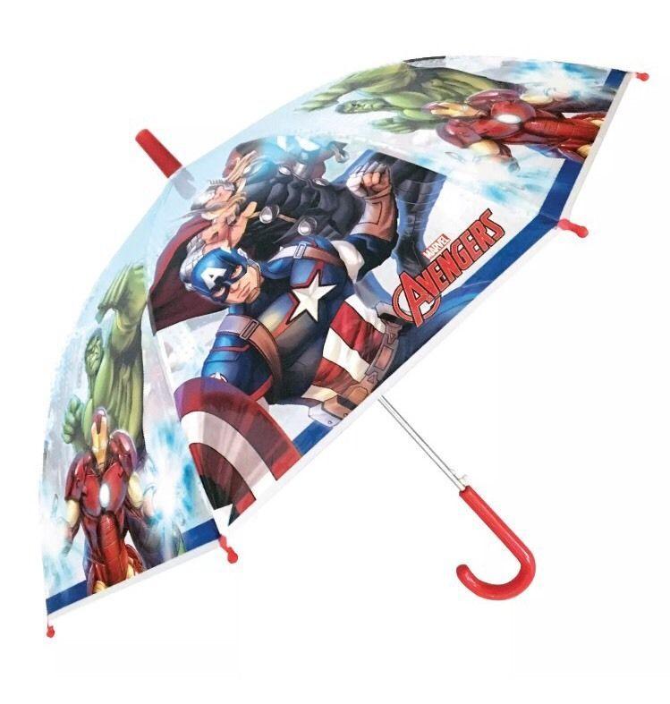 e6f535bdc Kids School Umbrella Avengers captain America Brolly Dome Bubble Umbrella |  eBay