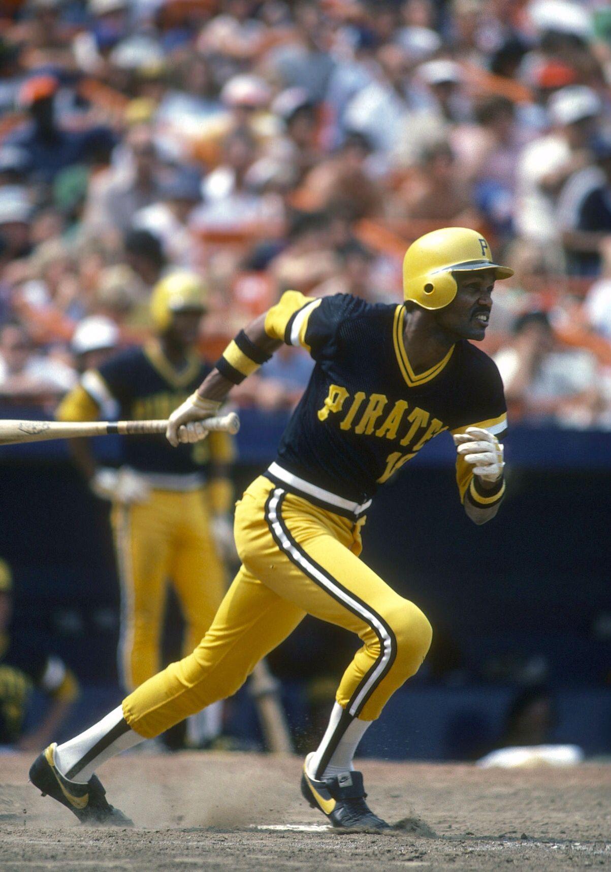 Omar Moreno Pittsburgh pirates baseball, Pirates