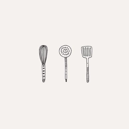Ryn Frank on Instagram: Baking doodles #drawing #design #kitchen #baking #illustrator #illustration #draw #sketch #doodle