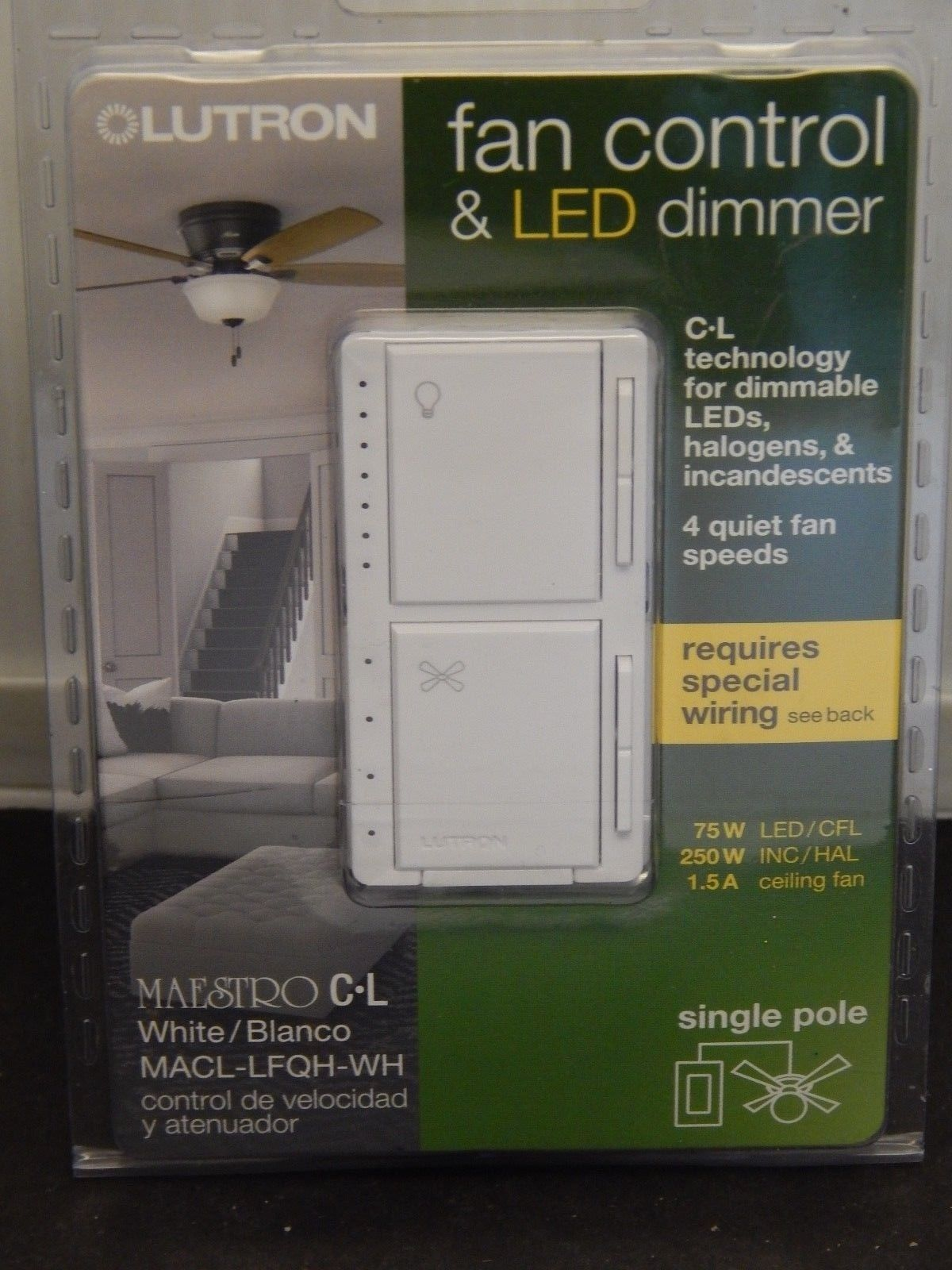 Dimmers 41984 Brand New Lutron Macl