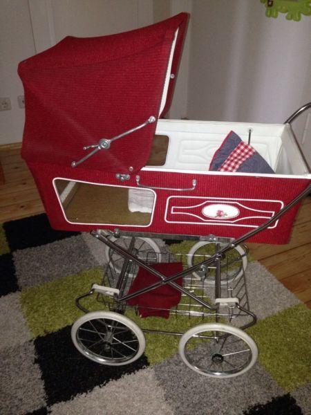 sehr gut erhalten kinderwagen stroller puppen. Black Bedroom Furniture Sets. Home Design Ideas