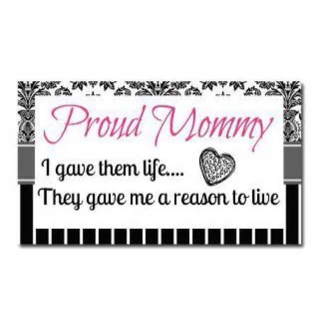 Proud mommy of two! DILLON AND COURTNEY | Mommy quotes, I ...