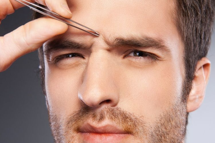 How to get rid of a monobrow unibrow eyebrow grooming