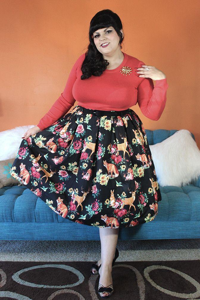 Hermeline Sweet Deer Skirt Plus Size   Fantasy Wardrobe ...