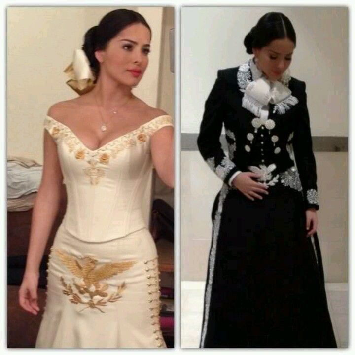 Vestidos para novia estilo charro