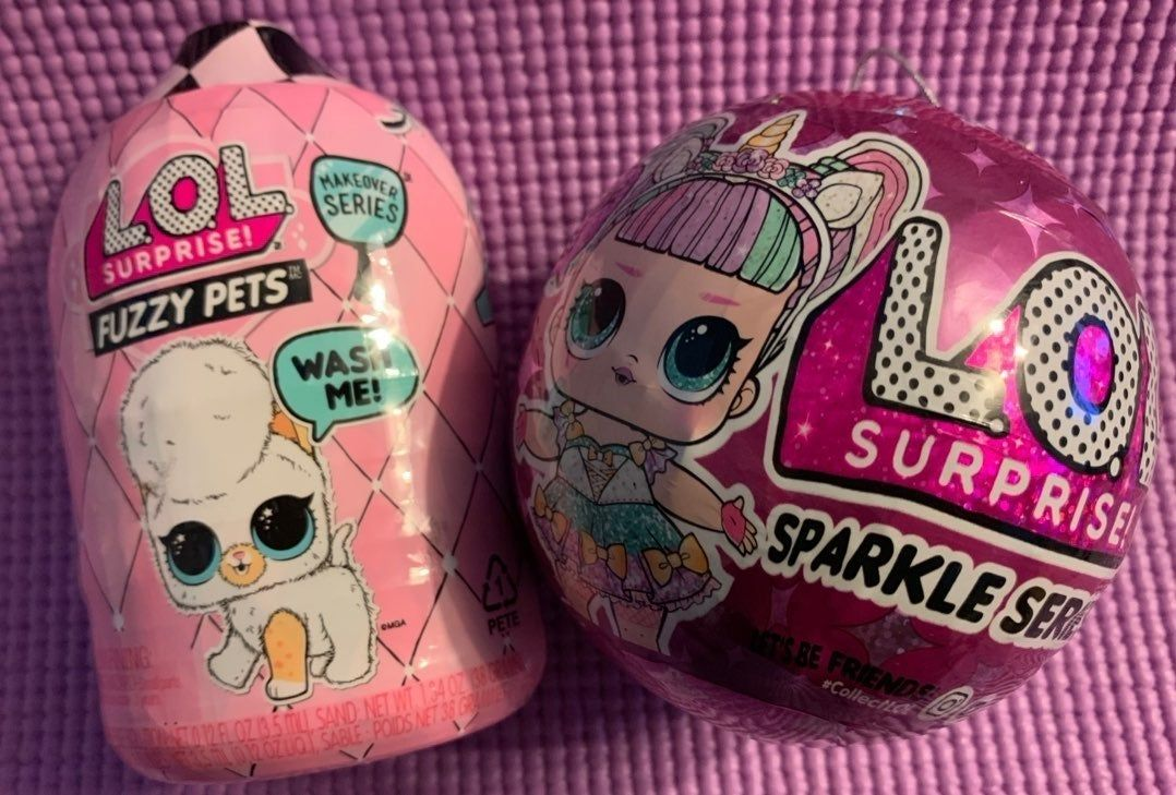 2 New & Unopened •1• LOL Surprise Sparkle Series •1• LOL