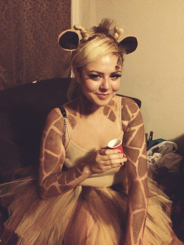 Giraffe Kostum Selber Machen Halloween Pinterest Halloween