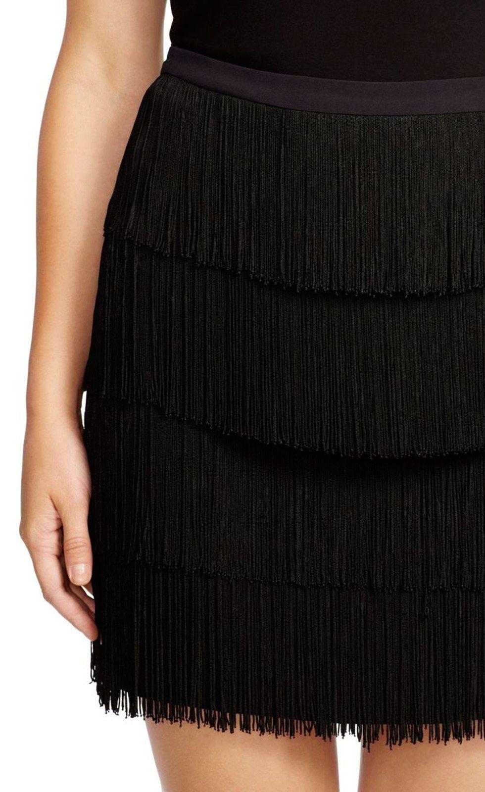 Fantastic in Fringe | Lauren Ralph Lauren® Fringed Straight Skirt