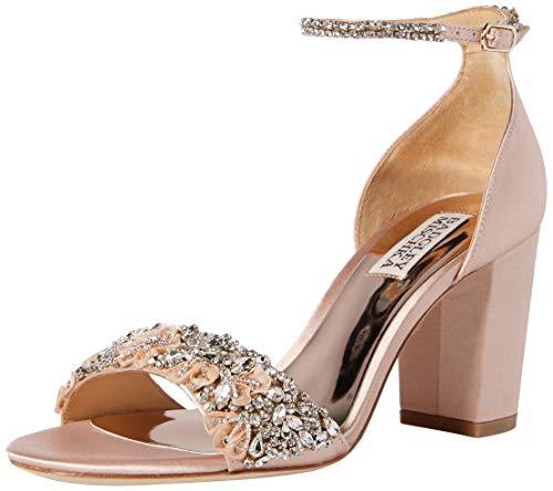 Badgley Mischka Women's Finesse Heeled Sandal, Soft Blush
