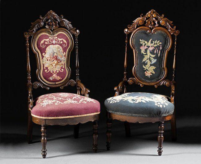 Poltronas Inglesas, Estilo Rococó   Século XIX