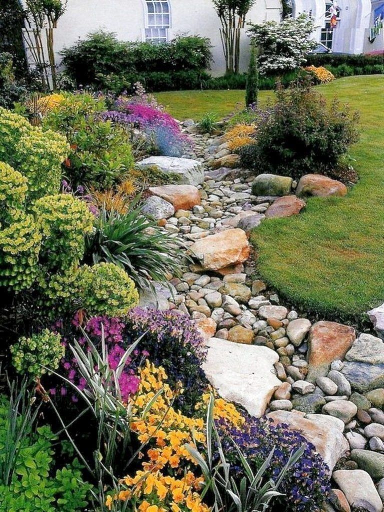 70 Favourite Side House Garden Landscaping Decoration ...