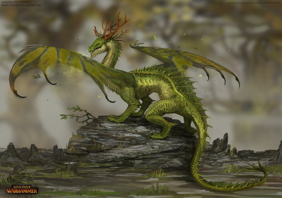 one of the mighty dragons that i had pleasure to design for total