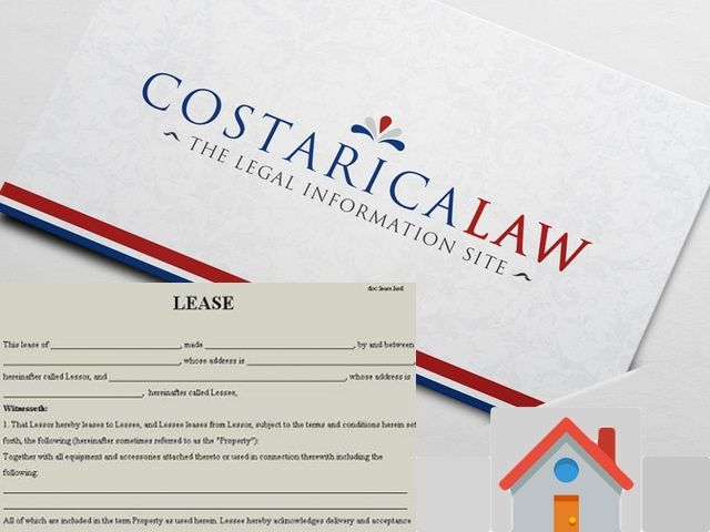 Costa Rica Residential Lease Form In Costa Rica the residential