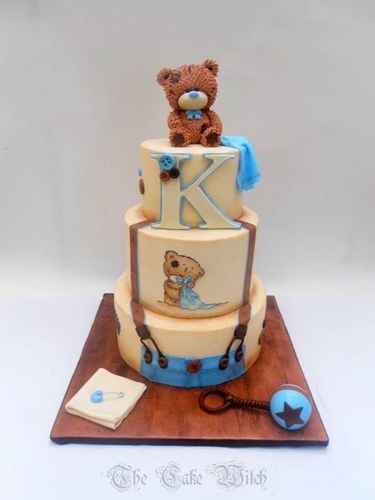 Vintage Teddy Bear Cake - awwwwwww!