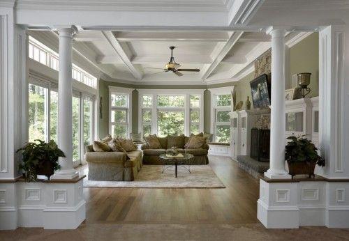 Columns ideas for riverhouse interieur home decor