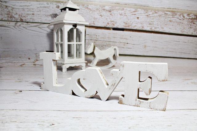 Duży Napis Love Stojący Ozdoba 3d Dekoracja 40cm Sweety