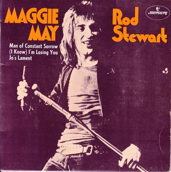 Rod Stewart Maggie May | Man of constant sorrow, Album cover art ...