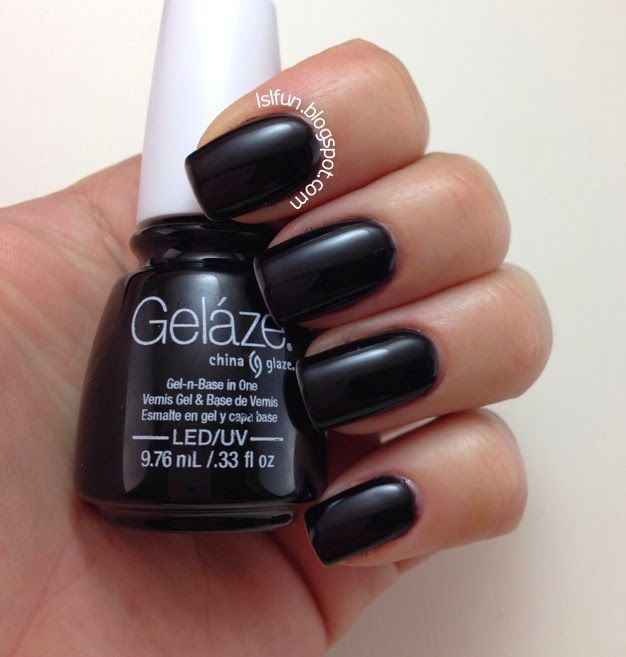 Gelaze by China Glaze Gel Polish Swatches and Review | Nails | Pinterest